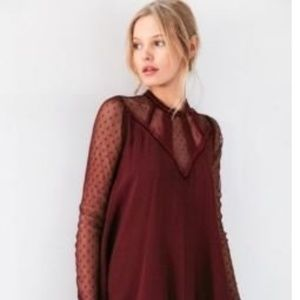Urban Outfitters - Mock-Neck Dress
